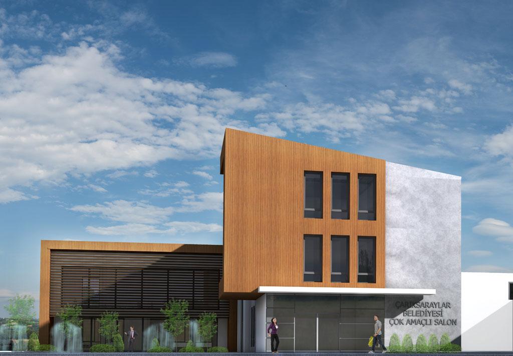 Belediye binası yarışma projesi